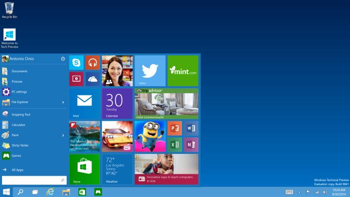 The Windows 10 Rumor Mill