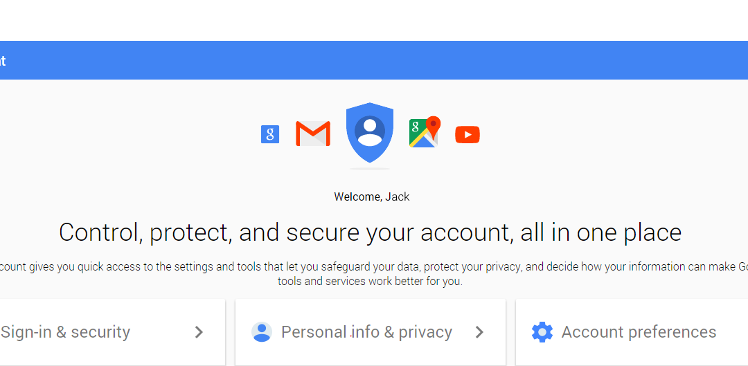 Keeping an Eye on Google – Security (part 1)