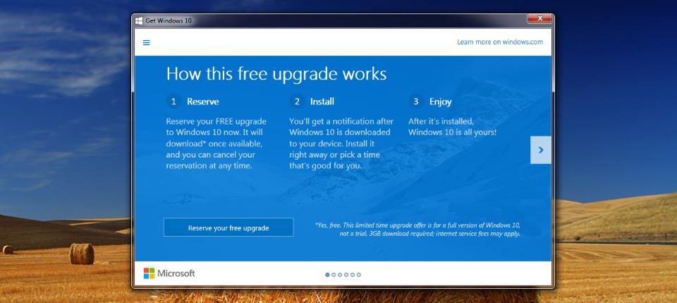 Windows 10 Update Notifications Appear!
