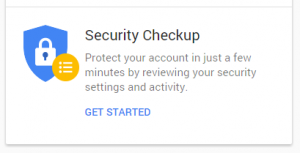 google security get started
